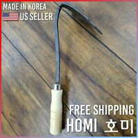 HoMi EZ Digger Plow Hoe Traditional Korean Multipurpose Gardening Spade Tool