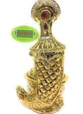 YASMEEN Gold Dagger Jambiya Yemen NON-ELECTRIC INCENSE BAKHOOR BURNER