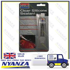 Granville Clear Silicone Sealant 40g Muliti-Purpose Sealant & Adhesive Flexible