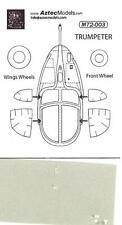 Aztec Decals 1/72 A-37B DRAGONFLY Canopy Paint Mask Set Trumpeter Model