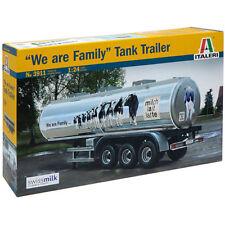 Italeri we are family tank trailer 3911 1:24 camions model kit