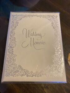 Vintage C. R. Gibson Co Embossed Wedding Memories Book 1960s 1970s Unused