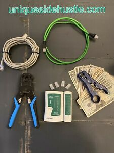 **On Sale**How To Make Money Building and Selling Ethernet Cables! Online Course