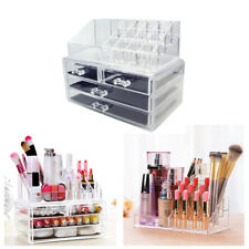 Acryl Kosmetik Organizer MakeUp Aufbewahrung Ständer Schubladen Box Präsentation