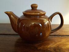 1970's Brown Betty Teapot (Pottery Red Clay Tea Pot Autumn Cauldon Ceramics)