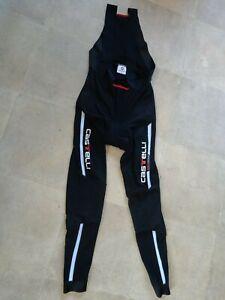 Castelli Rossa Corsa Mens BibTights(Warm)Winter Training Size XXL-Made In Italy