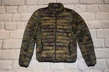 Pull Bear jacket camo quilted puffer camouflage moro military lightweight S 36