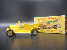 Vintage Lesney Matchbox MOY Y16 1904 Spyker Tourer Original Box