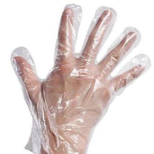 100/500/1000 Plastic Gloves Disposable Hygiene Polythene Catering Food Mechanics