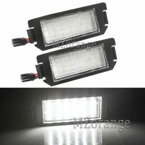 LED Number License Plate Light Lamp For Hyundai Kia Coupe Soul Rio I20 Picanto