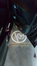 *DE* 2x LED LOGO Mercedes Einstiegsbeleuchtung- W203 C SLK W172 W171 SLR