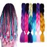 "24"" Kanekalon Synthetic Braiding Hair Extension Crochet Jumbo Braids Afro Twist"