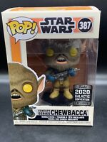 Funko Pop! Chewbaca #387 Limited Concept Series W/Protector Galactic Con 2020
