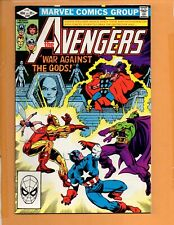 Avengers #220 Captain America Iron Man Drax The Destroyer Vs. Thor ! NM-