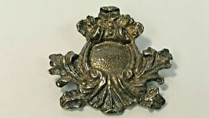 ORLEANS CLUB STERLING SILVER PIN PENDANT 1925-2000 NEW ORLEANS MARDI GRAS MGS939