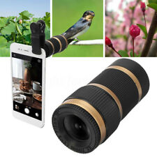 Clip-on 40x60 Optical Zoom HD Telescope Camera Lens Universal Mobile Cell Phone