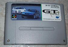 GT Racing NTSC japonés Super Famicom nintendo nes snes Toyota Nissan Opel Honda