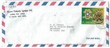 ST VINCENT Air Mail Cover-St Vincent Philatelic Services to Arlington, VA USA M4
