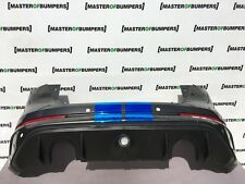 FORD FOCUS RS 2016-2018 REAR BUMPER IN GREY GENUINE [F183]