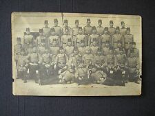 Antique 1910 Italian Military Soldiers Uniforms Ancestry Adolio RPPC Postcard