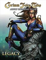 Grimm Fairy Tales Adult Coloring Book : Legacy, Paperback by Chen, Sean (ILT)...