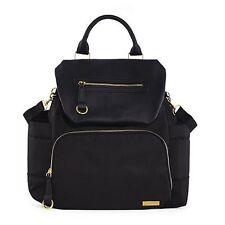 Skip Hop Chelsea Downtown Chic Diaper Backpack ~~ Black ~~ Brand New !!!!