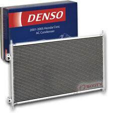 Denso AC Condenser for Honda Civic 1.7L L4 2001-2005 HVAC Air Conditioning mm