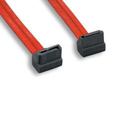 Kentek 1.5FT SATA 90 Degree Angled Cable 26AWG 7Pin Serial ATA Connector 3.0Gbps