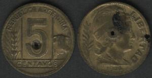 Argentina 5 Centavos, 1944 [16]