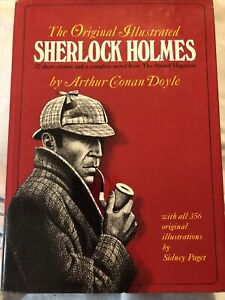 The Original Illustrated Sherlock Holmes Book Arthur Conan Doyle First Edition