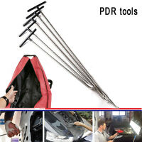 Set 5pcs Dent Puller Kit Paintless Dent Removal Hail Damage Repair PDR Tools(A)