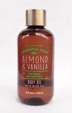 1 Bath & Body Works Almond & Vanilla Essential Oils Almond Oil Body Oil