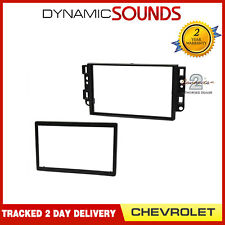CT24CV06 Black Double Din Stereo Fascia Panel for Chevrolet Epica 2006 Onwards