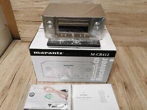 MARANTZ Melody M-CR412  True HiFi CD System in silver . BLUETOOTH.