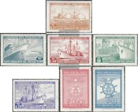Paraguay 1080-1086 (kompl.Ausg.) postfrisch 1962 Handelsflotte