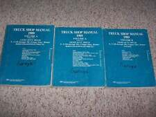 1989 Ford F-250 Shop Service Repair Manual STD XL XLT 4.9 5.0 5.8 7.3 Diesel 7.5