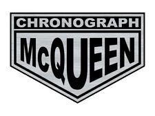 Logo adhésif gravé Steve McQUEEN Le Mans Porsche - 6,5cm x 4,5cm - ép. 1,6mm