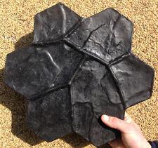 STAMP POLYURETHANE gypsum concrete stone  Decorative flower FREE shipping