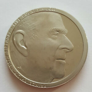 2011, Five Pound £5, Prince Philip 90th Birthday.    Low mintage  A11.
