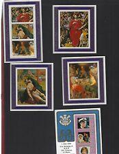 Niue sc#B47-50,356a (1981-2) Souvenir Sheets MNH