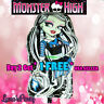 8pc MONSTER HIGH Frankie stein & Ghouls Balloon Draculaura Foil Party latex