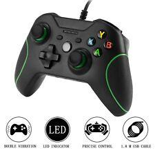 Xbox One Mando Controlador de Gamepad Alámbrico con LED Luz para XBOX 1 PC TV