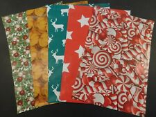 50 10x13 Christmas Candy Cane Deer Pumpkin Stars Poly Mailers Shipping Envelopes