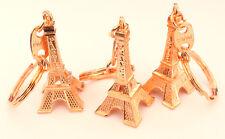 Lot revendeur de 100 PORTE-CLÉ TOUR EIFFEL Paris CUIVRE cadeaux souvenir
