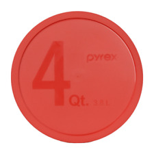 #research PYREX - Red 4 Quart Mixing Bowl Lid