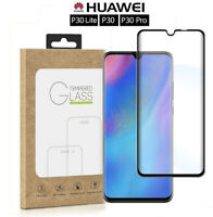 For Huawei P30 Pro Lite 3D/5D Curved Tempered Glass Screen Film Protector Guard