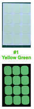 Matte Glow in the Dark sticker for Light Switch Button 1Set 12x switch button