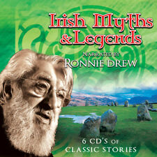 Irish Myths & Legends Narrated by Ronnie Drew (The Dubliners) | NEW 6 CD BOX SET