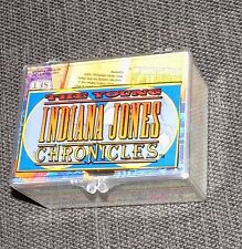 VTG 1992 The Young Indiana Jones Chronicles Complete Set of Trading Cards 3D