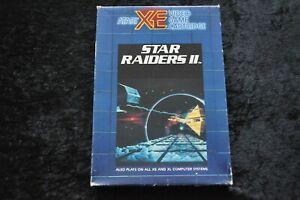Star Raiders II Atari XE/XL RX8078 Boxed